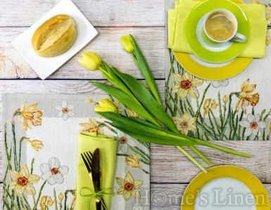 """Комплект от 2бр. Великденски подложки за хранене """"Narcissus"""", Sander"""