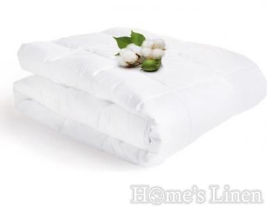 """Зимна капитонирана олекотена завивка 100% памук перкал """"Pure Cotton"""""""
