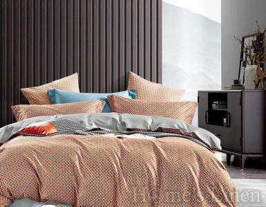 """Луксозен спален комплект памучен сатен, 100% памук 300 нишки """"Емма"""", Premium Collection"""