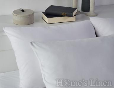 Комплект 2бр. калъфки за възглавници 100% памук дюс бяло