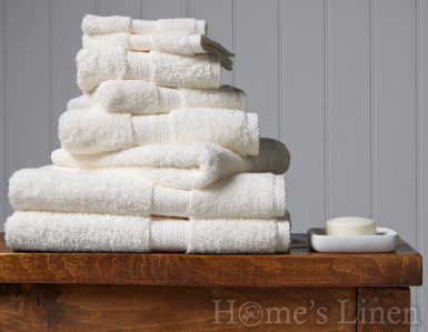 "Премиум хавлиена кърпа 100% египетски памук ""Renaissance"" Parchment, Christy"