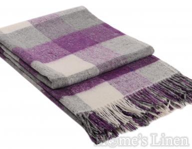 """Одеяло с вълна """"Палермо"""" лилаво"""