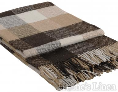 "Одеяло с вълна ""Палермо"" кафяво"