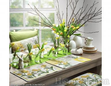"""Комплект от 2бр. Великденски подложки за хранене """"Bloom Patch"""", Sander - два цвята"""