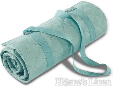 "Пикник одеяло/ одеяло за пикник Biederlack ""Picnic Aqua"""