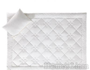 """Всесезонна олекотена завивка с микропух """"Contessa"""", White Boutique"""
