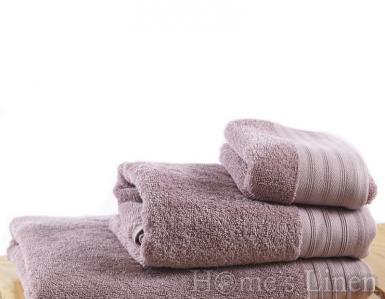 """Хавлиена кърпа 100% памук 540 гр. """"Пепел от рози"""""""