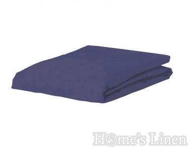 Плик за завивка 100% памук дюс тъмно синьо