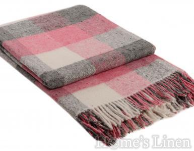 """Одеяло с вълна """"Палермо"""" розово"""