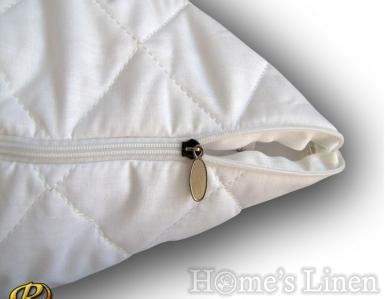 Капитониран протектор за възглавница 100% памук