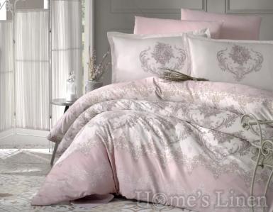 """Спален комплект памучен сатен, 100% памук """"Adra"""""""