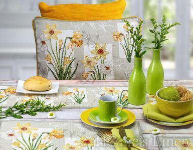 """Комплект от 2бр. Великденски подложки за хранене """"Daffodils"""", Sander"""