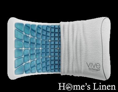 """Ергономична опорна възглавница """"Vive Anatomic Curve 13"""", Technogel"""