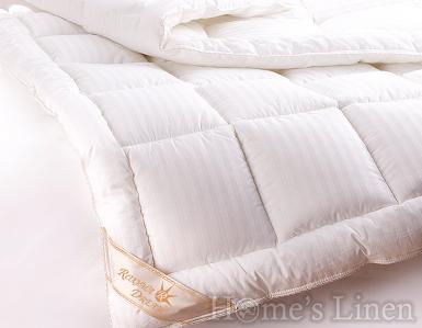 Зимна олекотена завивка 100% памук- сатенирано райе